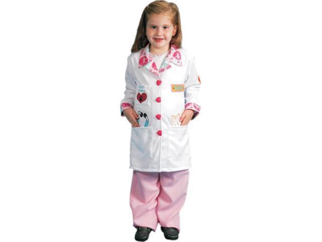 Dress Up America 485-T4 Girls Veterinarian Costume - Toddler