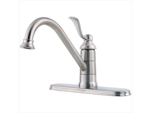 price pfister gt341ps0 portland 1 handle kitchen faucet in