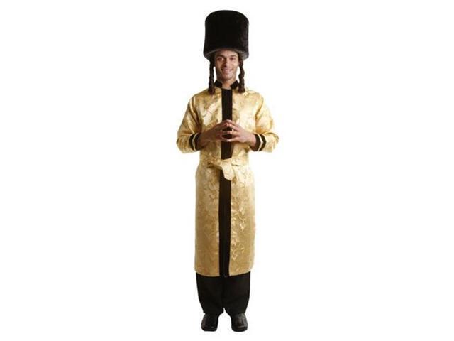 Dress Up America 352-XXL Adult Jewish Grand Rabbi Robe Costume - Size XX Large