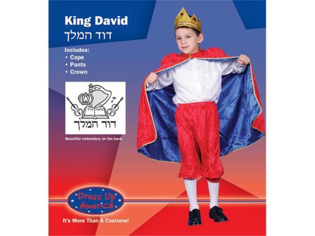 Dress Up America Deluxe King David Costume Set Large 12-14 234-L