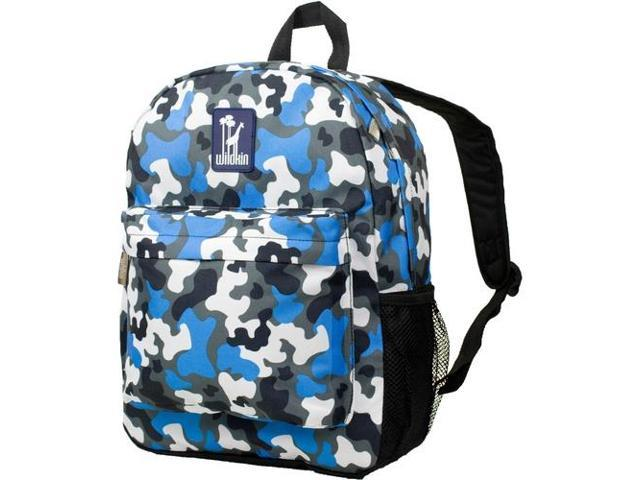 Wildkin 57213 Blue Camo Crackerjack Backpack - Ashley Rosen