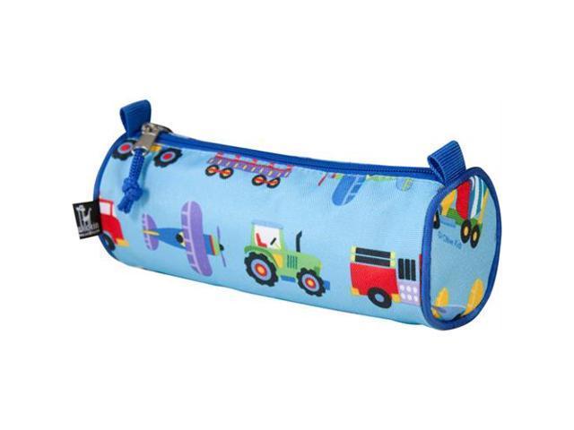 Wildkin 39078 Olive Kids Trains, Planes and Trucks Pencil Case