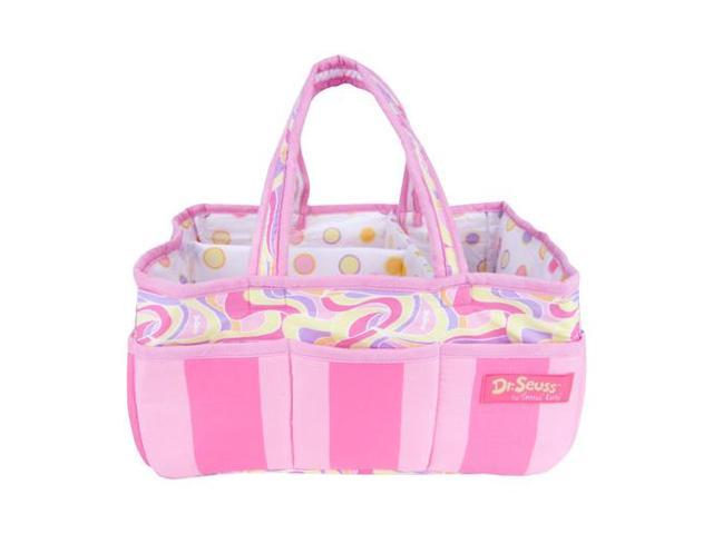 Trend Lab 30396 STORAGE CADDY - DR. SEUSS PINK OH, THE PLACES YOULL GO