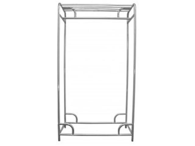 Ex-Cell Kaiser 790-60S Chrome Finish 60-Inch Single Bar Stationary Garment Rack