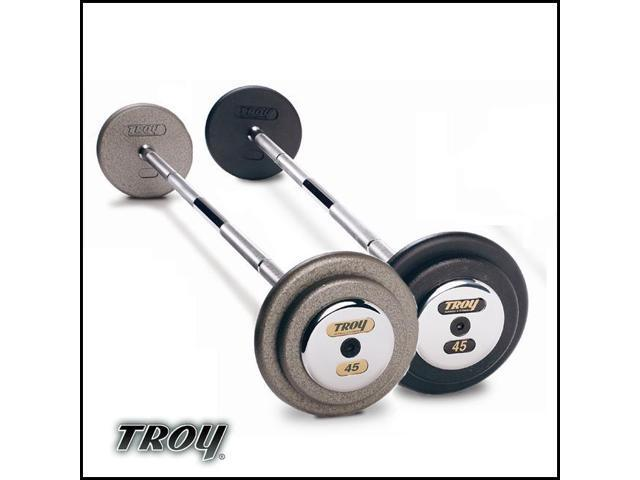 Troy Barbell PFB-090C Pro-Style Premium Barbell With Chrome End Cap - 90 Pounds