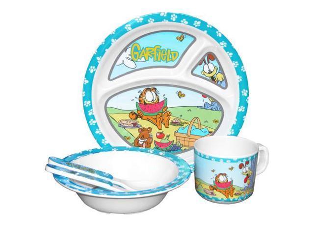 Motorhead Products GF-61009 5Pc Kids Dish Set