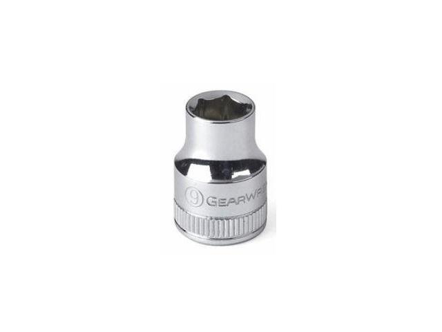 KD Tools KDT80130 .25 in. Drive 8mm 6 Point Standard Chrome Socket