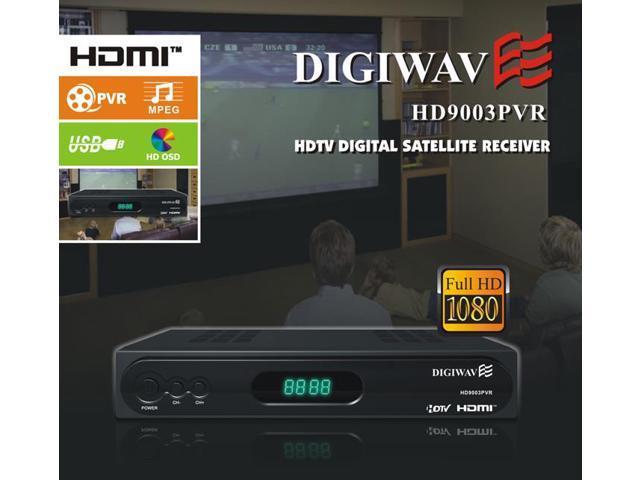 Homevision Technology HD9003PVR HDTV Digital Satellite Receiver