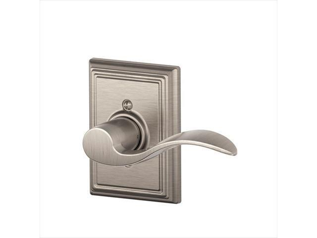 Ingersoll-Rand F170 ACC 619 ADD RH 134 N N SL Addison Collection Accent Right Hand Satin Nickel Dummy Lever