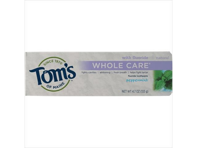 """an overview of toms of maine With all the talk and shtick over """"green"""" products, it's easy to forgot that tom's of  maine has long been a leader in natural consumer products."""