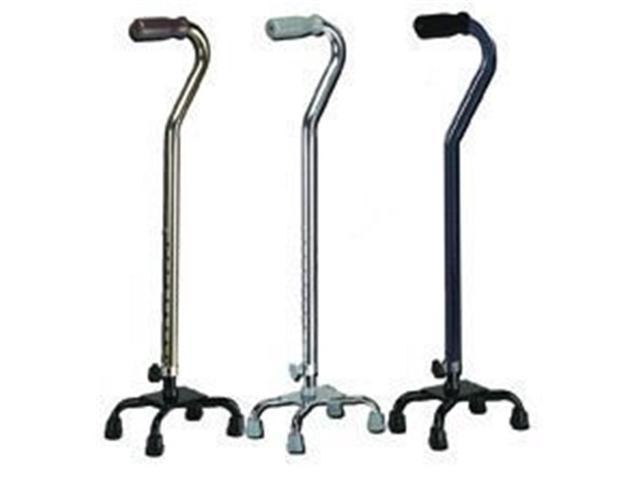 Complete Medical Supplies 1604B Small Quad Cane Base Bronze