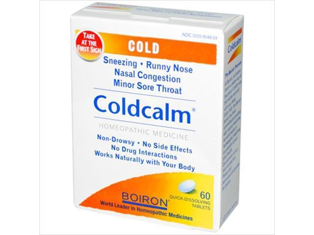 Boiron coldcalm reviews