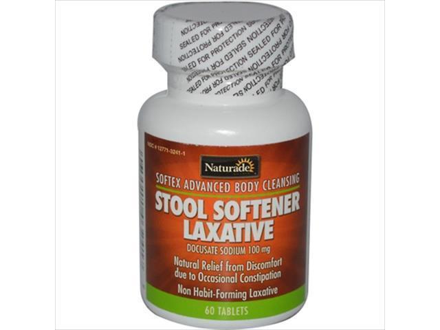 Naturade Softex Stool Softener Laxative 60 Tablets