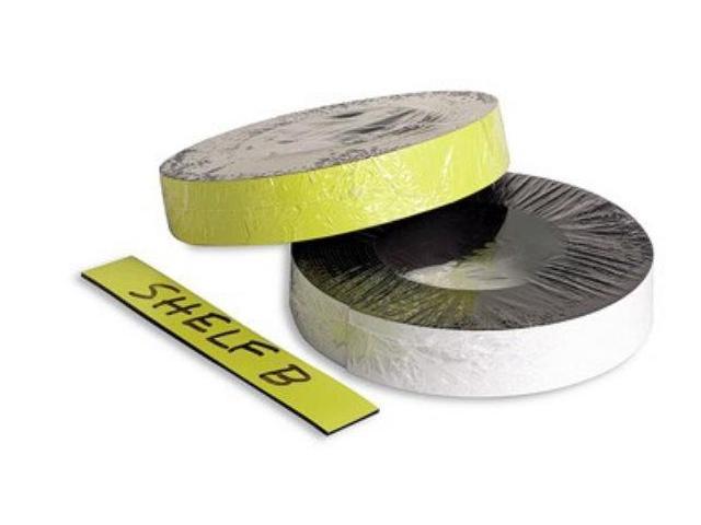 Baumgartens 66157 Magnetic Label Tape-Ylw-50ft.