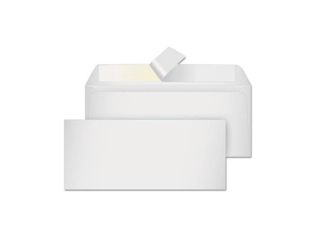 Quality Park CO141 Grip-Seal Business Envelopes,Side Seam, No.10, White Wove, 50-Box