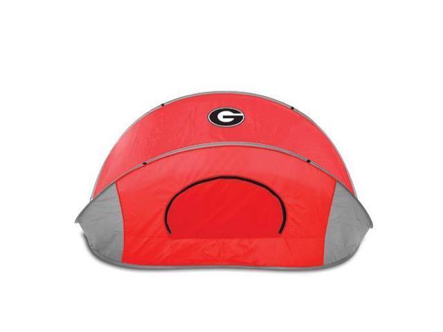 Picnic Time PT-113-00-100-184-0 Georgia Bulldogs Manta Sun Shelter in Red