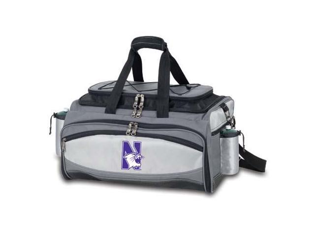 Picnic Time PT-770-00-175-434-0 Northwestern Wildcats Vulcan Tailgate Cooler in Black