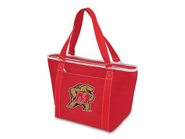 Picnic Time PT-619-00-100-314-0 Maryland Terps Topanga Embroidered Cooler Bag in Red