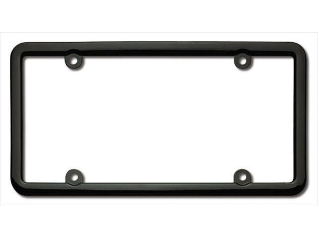 Cruiser Accessories 20050 Classic Lite License Plate Frame, Black