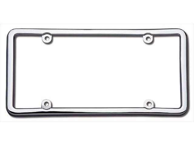 Cruiser Accessories 20030 Classic Lite License Plate Frame, Chrome