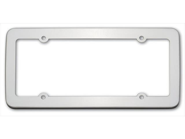 Cruiser Accessories 21110 Stainless License Plate Frame, Stainless Steel