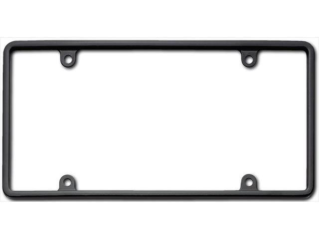 Cruiser Accessories 21350 Slim Rim License Plate Frame, Black