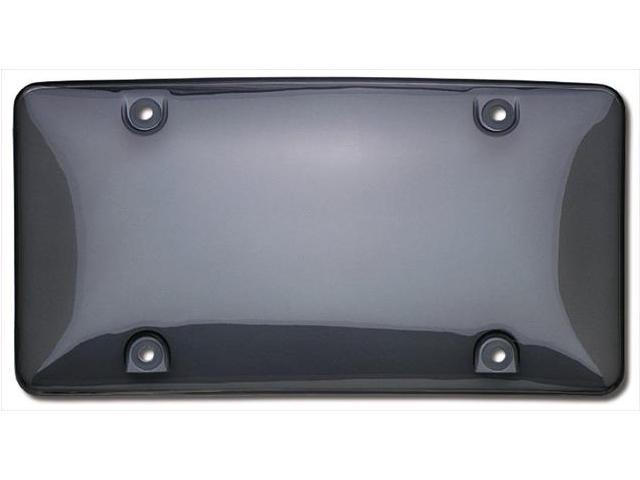 Cruiser Accessories 72200 Bubble Novelty License Plate shield, Smoke