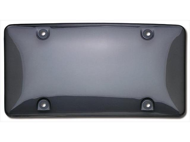 Cruiser Accessories 73200 Tuf Bubble Novelty License Plate shield, Smoke