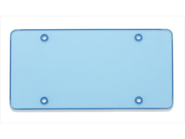 Cruiser Accessories 76400 Tuf Flat Novelty License Plate shield, Blue