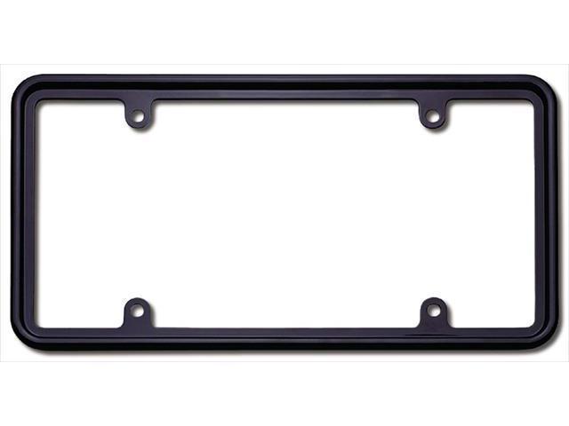 Cruiser Accessories 30650 Perimeter License Plate Frame, Black