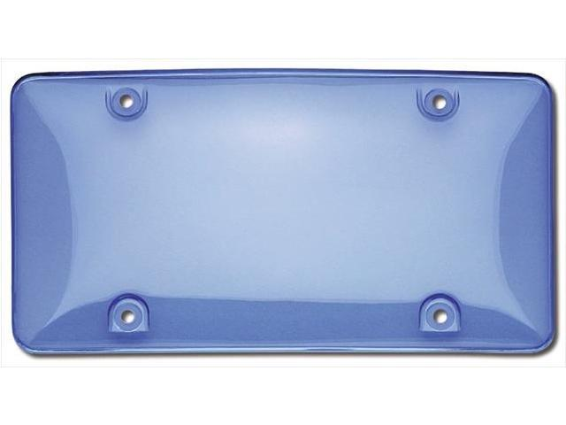 Cruiser Accessories 73400 Tuf Bubble Novelty License Plate shield, Blue