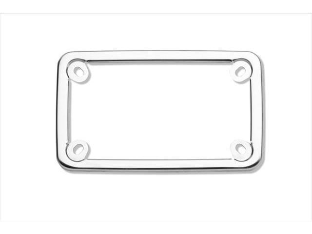 Cruiser Accessories 77000 Motorcycle License Plate Frame Elite, Stainless Steel