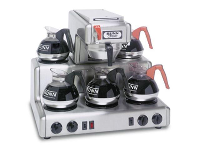 BUNN 20835.0004 12 Cup Coffee Brewer with 5 Warmers Thermo Fresh