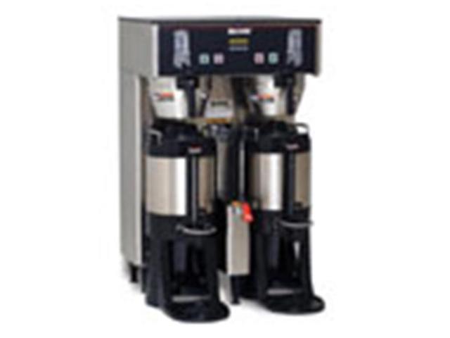 BUNN 34600.0004 BrewWISE Dual Thermo Fresh Digital Brew Control 120/208V NO Funnel Lock Brewer