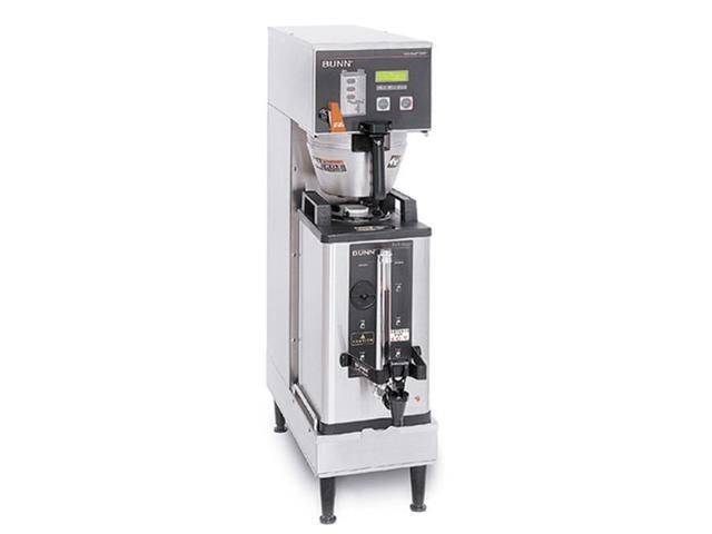 BUNN 33600.0001 BrewWISE Single Soft Heat Digital Brew Control 120/240V Funnel Locks Brewer