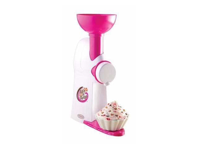 Nostalgia Electrics MTC100 Mix N Twist Ice Cream And Toppings Maker