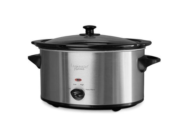 Continental CP43879 Oval Slow Cooker, 7.0 Quart