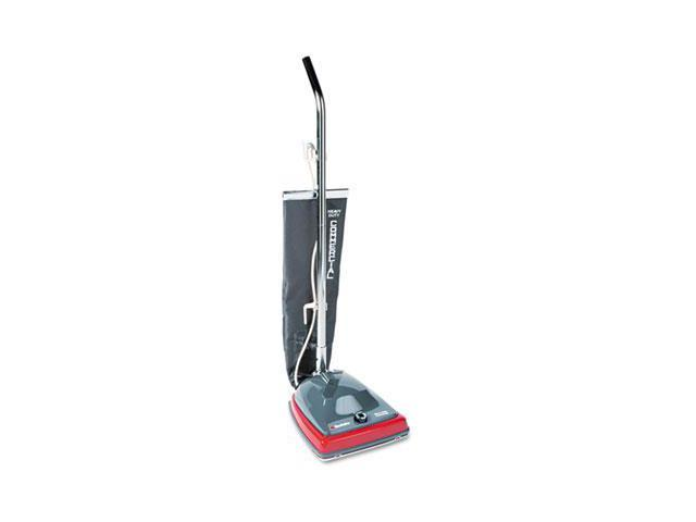 Electrolux Sanitaire SC679J Sanitaire Commercial Lightweight Bag-Style Upright Vac, 12 lbs, Gray-Red