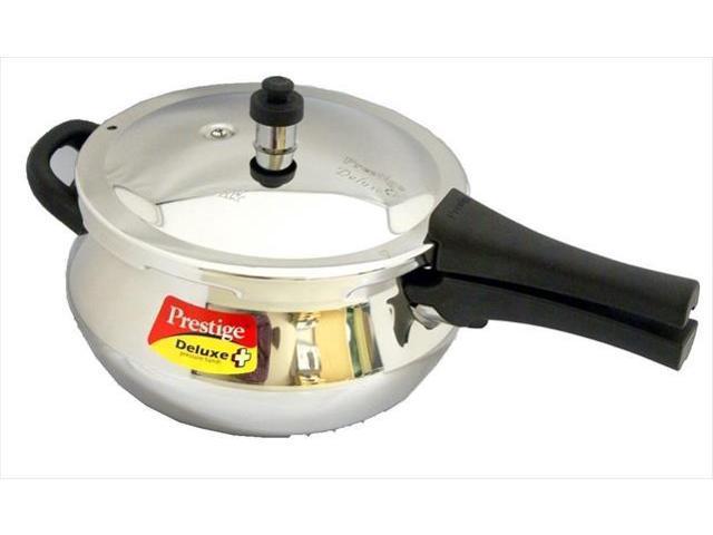 Prestige PRSSH4.4 Deluxe Stainless Steel Junior Handi Pressure Cooker - 4.4 Litres