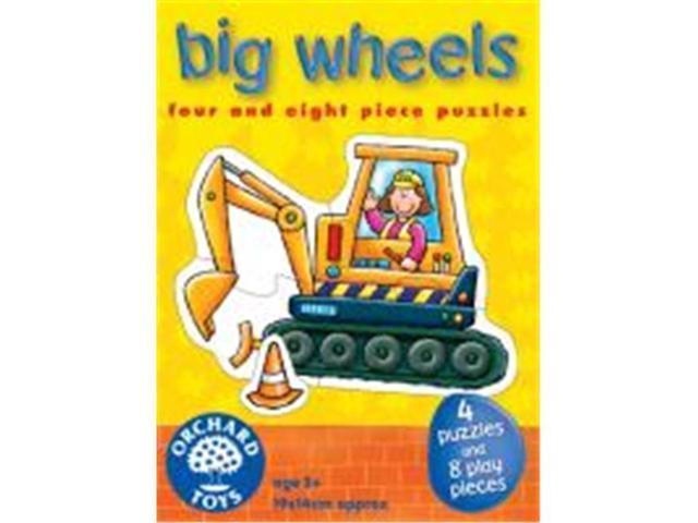 The Original Toy Company 201 - Big Wheels Puzzles Set