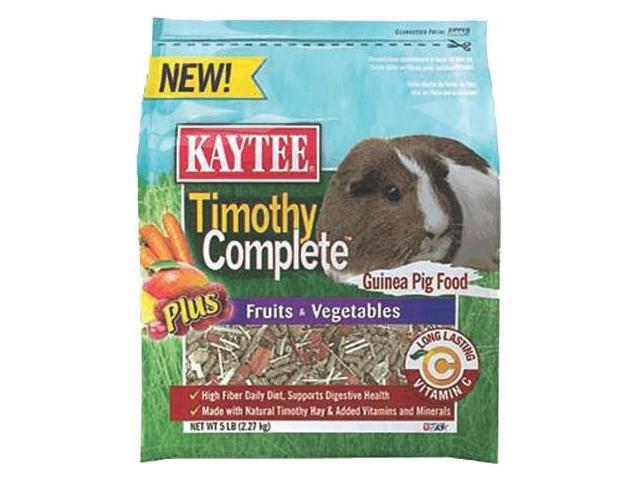 Kaytee Products Timothy Complete + Fruits & Vegetables Guinea Pig - 100506278