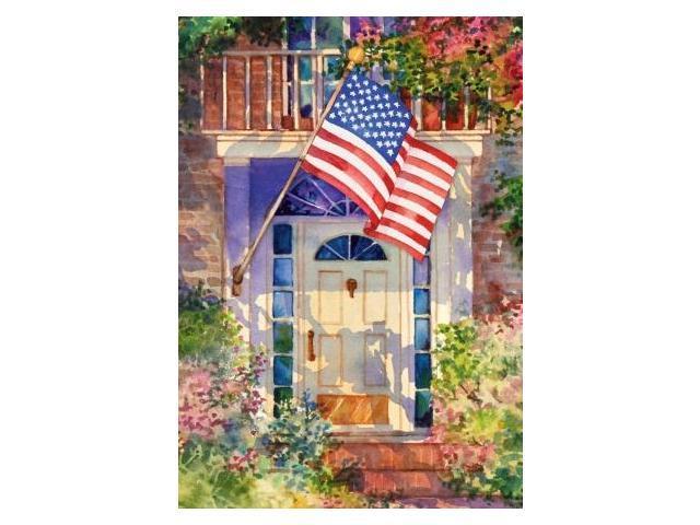 toland home and garden patriotic home garden flag