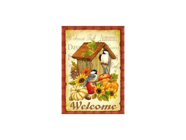 Toland Home Garden Autumn Birds Garden Flag