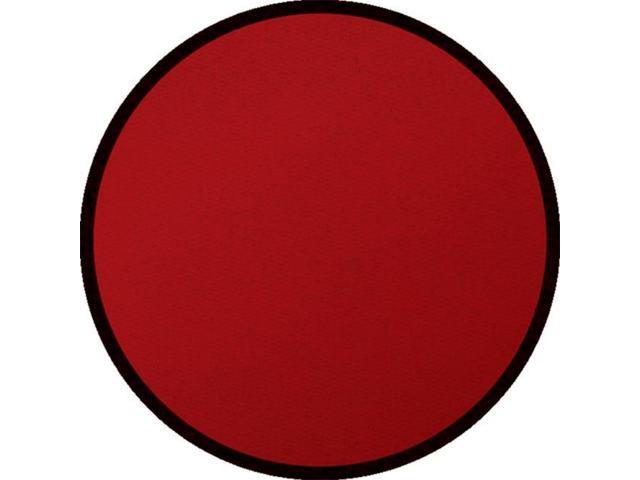 Learning Carpets CPR478 - Solid Maroon Round Large