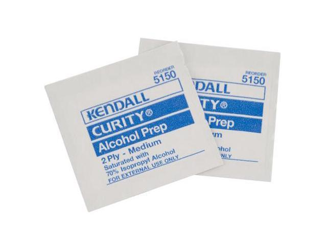 Kendall AP100 Alcohol Sterile Prep Wipes, 2 - Ply, Medium ...