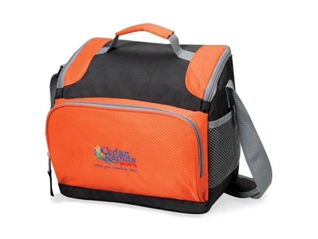 Golden Pacific 26235O Brisk 16 Can Cooler - Orange