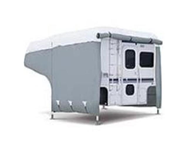 Classic Accessories 80-037-153101-00 Deluxe Camper Cover Model 2 - Gray and White