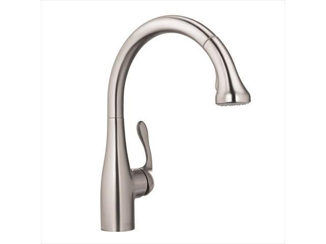 hansgrohe 4066860 allegro e single handle pull out sprayer