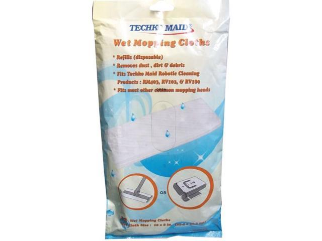 Techko Maid RM012 Wet Replacement Cleaning Sheets. Techko Maid RM012 Wet Replacement Cleaning Sheets   Newegg com