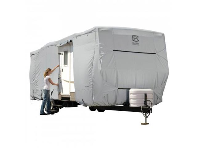 Classic Accessories 80-137-171001-00 PERP TRAVEL TRAILER GREY-MDL 4-1CS
